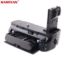 SAMITIAN Battery Grip Holder Work with LP-E6 Battery or 6 Items AA Batteries for Canon EOS 5D Mark II 5D2 DSLR Digicam
