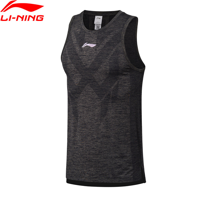deb643b034 Li-Ning Men Basketball Vest Breathable Slim Fit Polyester Nylon Comfort  LiNing Seamless Sport Sleeveless T-Shirt AVSN011 MBJ118