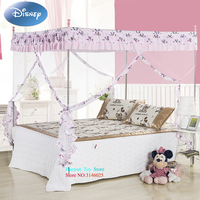 Disney Fashion INS Net Mickey Baby Bed Blue Pink Mosquito Set Mesh Dome Curtain Net for Toddler Crib Cot Canopy Dropshipping