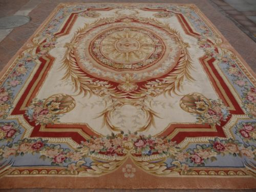 2014 Rushed Hot Sale Rugs And Carpets Details About Hand Knotted Thick  Plush French Savonnerie