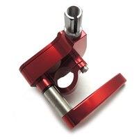 CNC Billet Throttle Thumb Assembly For ATV YAMAHA Banshee Raptor 350 660 700 Red