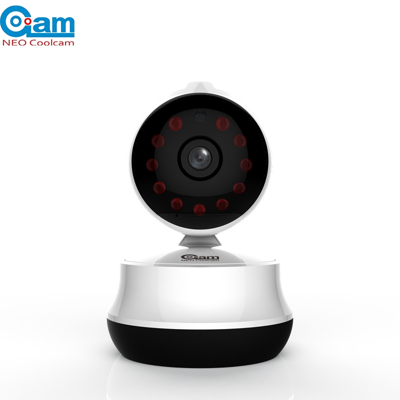 NEO COOLCAM NIP-61GE Mini Wifi IP Camera 720P Network Security Baby Monitor 64GB Night Vision For IOS Anndroid System Smartphone neo coolcam nip 02oao wireless ip camera network ir night vision cctv video security surveillance cam support iphone android