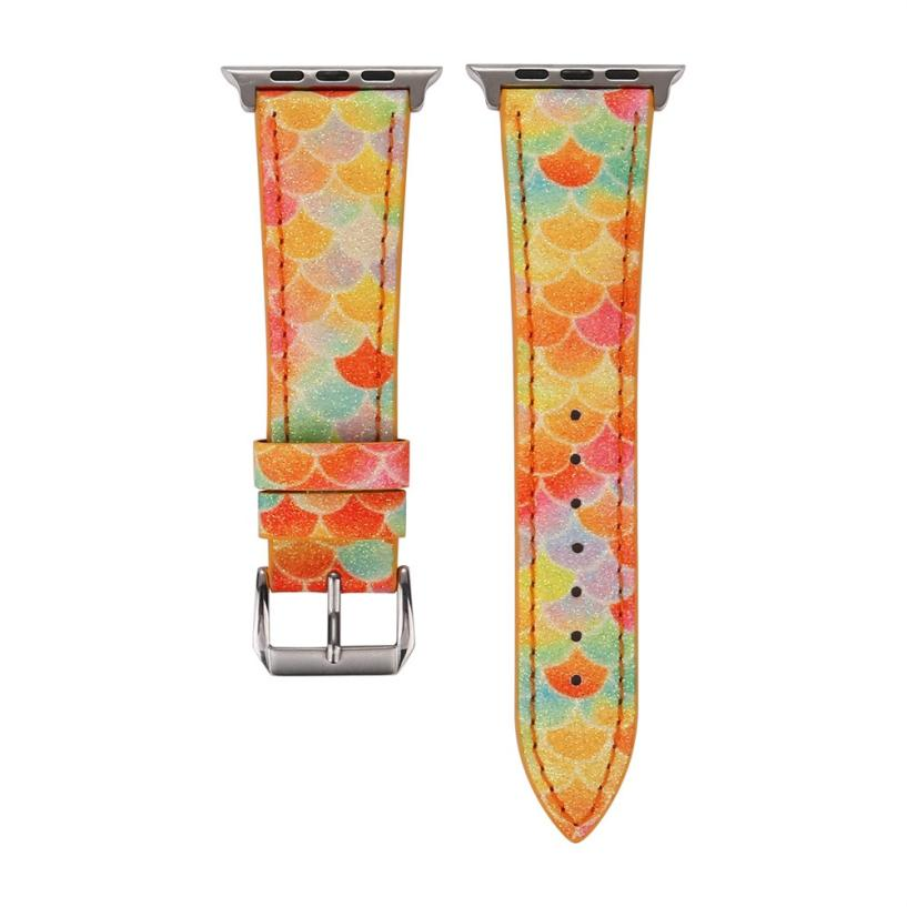 Image 2 - HIPERDEAL Leather Strap Replacement Watch Band For Apple Watch Series 1/2/3 42/38mm Bracelet Dropshipping July 26-in Smart Accessories from Consumer Electronics