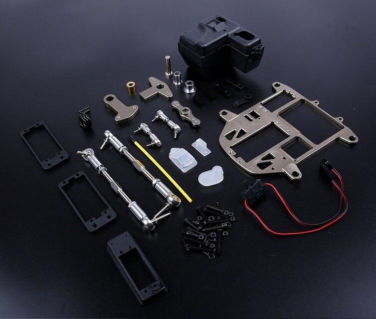 Kit de dirección de empuje simétrico de aluminio para HPI KM ROVAN BAJA 5B SS King motor 85273-in Partes y accesorios from Juguetes y pasatiempos    1