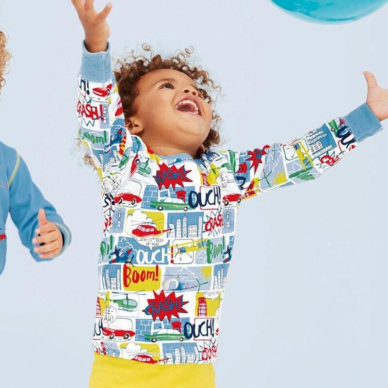 Одежда в европейско-американском стиле детская Бытовая взять в детская одежда для сна оптовая продажа мультфильм костюм популярный стиль