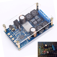 DC 4 5 27V 50Wx2 Bluetooth Digital Amplifier Board Dual Channel Audio Power Amplifier Module