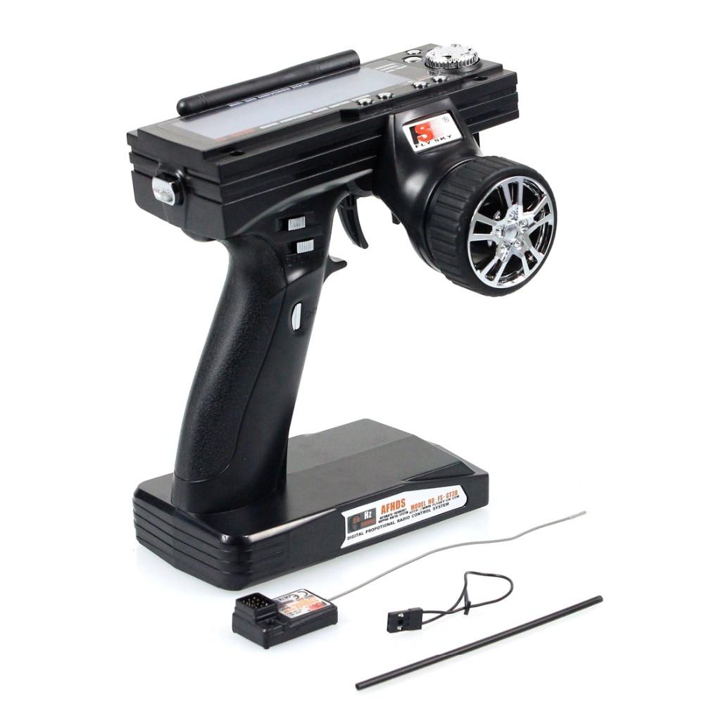 F01719 Flysky FS GT3B FS-GT3B 2,4G 3CH Gun Controller + Empfänger Sender Für RC Auto Boot