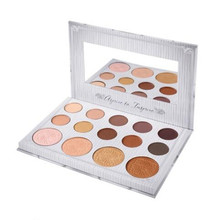 In Stock BH Cosmetics New Brand 14 Colors Matte Natural Cari Bybel Eye Shadow & Highlighter Palette for Beauty MM100