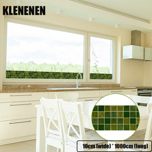 KLG-008 Self-adhesive Wallpaper Decor Wall Sticker Waistline Stickers PVC  Waist Line Bathroom kitchen Tile wallpaper
