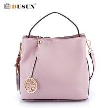 DUSUN Modemarken Frauen Handtaschen Aus Echtem Leder Umhängetasche Frau Leder Handtaschen Frauen Umhängetasche Lässig Tote 2016 Neue