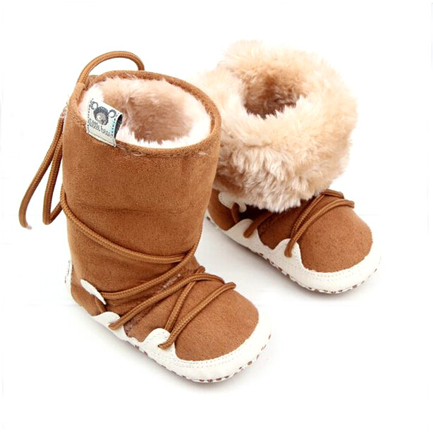 winter soft warm shoes baby boots new born baby walker in