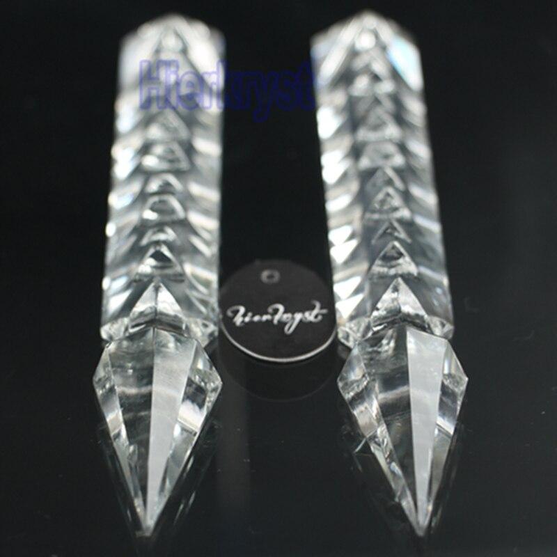 HIERKYST 10 pcs K9 de Cristal De