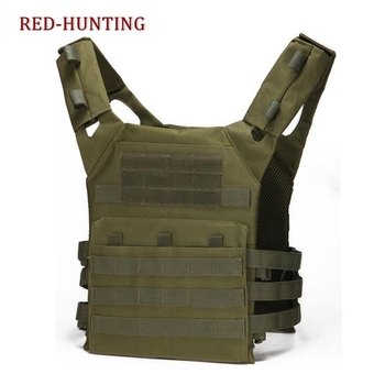 Wholesale Army Green Tactical Combat Vest JPC Outdoor Hunting Wargame Paintball Protective Plate Carrier Waistcoat Airsoft Vest military equipment tactical vest airsoft hunting molle vest for outdoor wargame army training paintball combat protective vest