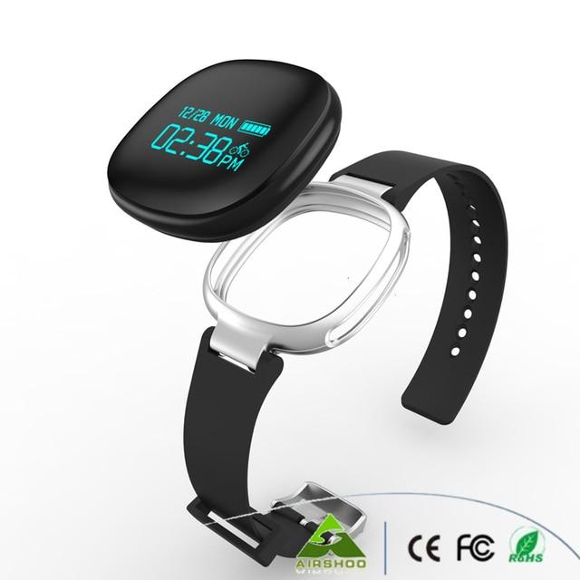 DHL Freeshipping New Smartband E08 Swimming Waterproof Smart Wrist Bracelet Bluetooth Sports Tracker Heart Heart Rate Monitor