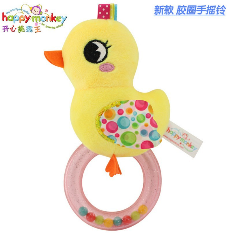 US $2 55  TOP! Baby Rattles Owl Chick 15cm sound Cute Animals Bird Infant  Baby Crib Stroller Toy Hand Bells Plush Newborn Bed Play Doll-in Baby