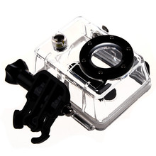 Waterproof Dive Housing Case Skeleton with Lens for Gopro Hero 2