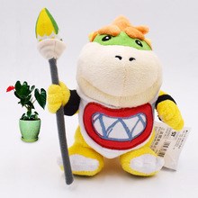 Anime Super Mario Bros Koopalings Bowser  Koopa JR Peluche Doll Plush Soft Stuffed Toy Great Christmas Gift For Children