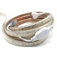 180 светодиодный/м SMD 2835 Светодиодная лента 220 в 230 в 240 В двухрядные светодиодные ленты веревочная лента для украшения дома сада