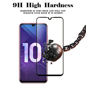 "Image 3 - 1 2pcs 3D מזג זכוכית על 10i כבוד 10i מסך מגן מלא כיסוי מגן זכוכית עבור Huawei Honor honer 10i 6.2 ""HRY LX1T"
