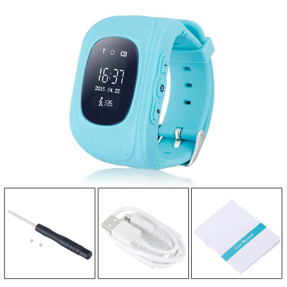 Q50 Смарт здоровье Детские часы с gps-трекером для детей безопасный SOS Вызов поисковый радиомаячок компанией apple android телефон для маленьких детей часы PK Q90 Q100