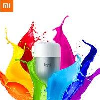 Original Xiaomi Yeelight LED Smart Light E27 9W 600 Lumens RGB Bulb Wifi Smart Control Colorful