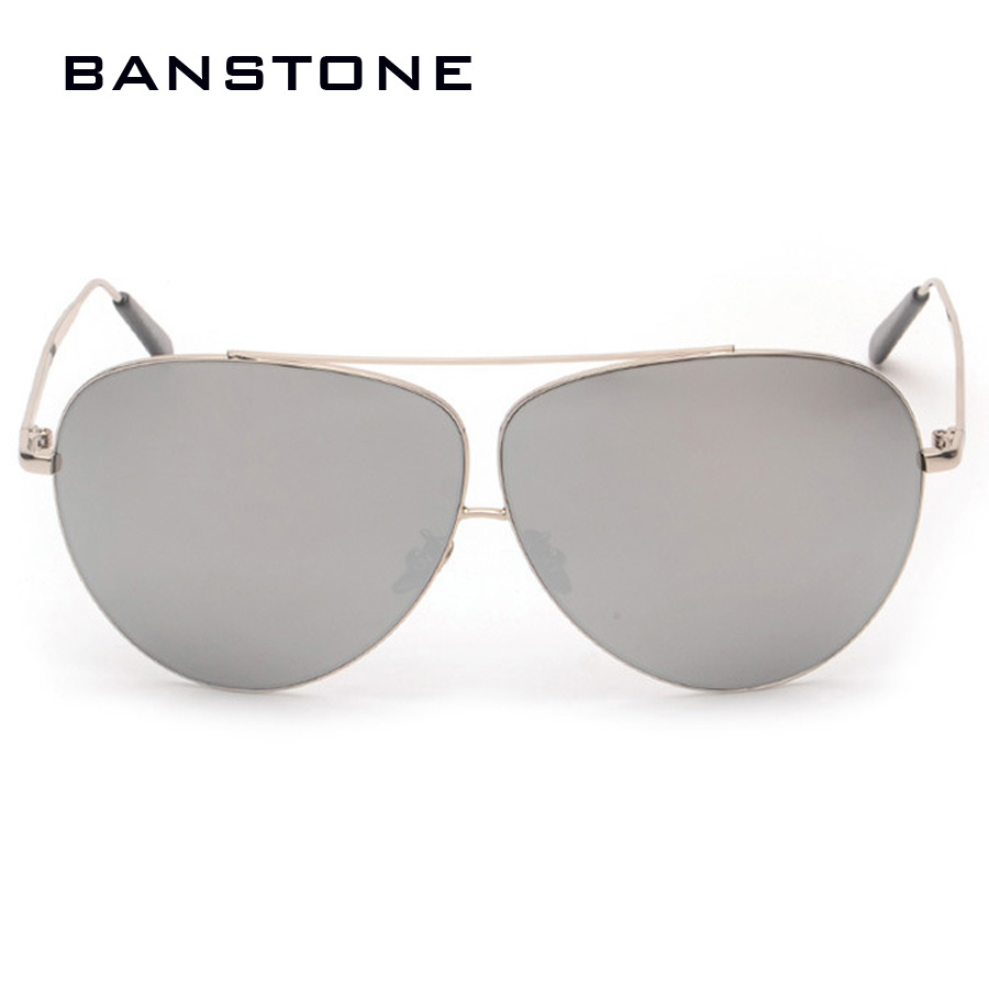 BANSTONE Metal Sunglasses Women Men Golden Sun Glasses 8 Colors Googles Summer Style Oculos De Sol Masculino