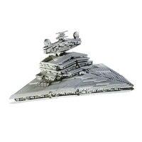 Lepin 05027 3250Pcs Space War Emperor Fighters Star Ship Mobile Building Block Bricks Children Gifts 10030