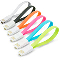 6x Mini Micro USB Cable 22cm Magnetic Sync/Charge Micro USB Data Cable Cord for Vivo Android Smartphone Powerbank Wall Charger