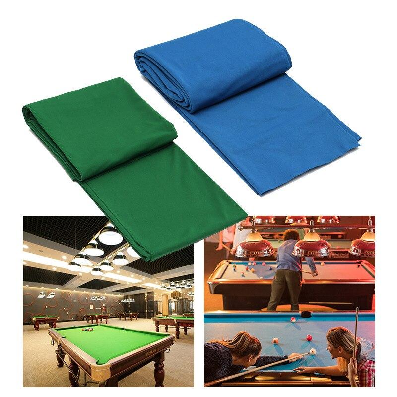 340x145cm Pool Eight Ball Billiard Pool Table Cloth For American Billiards Snooker Accessories Green Blue