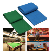 340x145cm Pool Eight Ball Billiard Pool Table Cloth For American Billiards Snooker Accessories Green/Blue