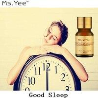 Ароматерапия хорошее ночное масло помогает хорошо спать чистые натуральные эфирные масла анти-стресс усталость улучшает бессонницу и депр...