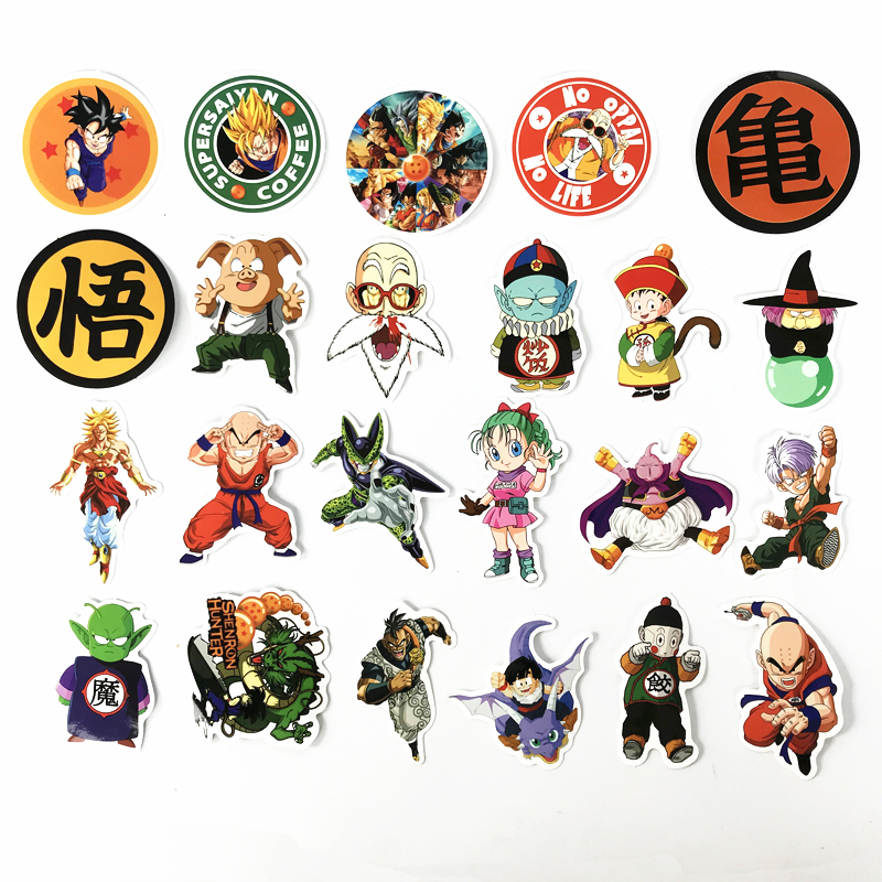 TD-ZW-100-Pcs-Not-Repeat-Dragon-Ball-Anime-Sticker-For-Car-Laptop-Skateboard-Pad-Bicycle (5)