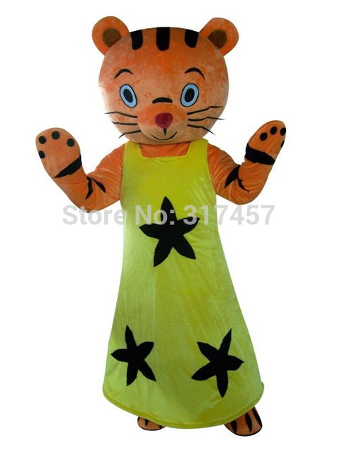 NEW Factory Direct black star tiger girl Fancy Dress Mascot Costume Adult Character Cosplay Costume free  sc 1 st  AliExpress.com & NEW Factory Direct black star tiger girl Fancy Dress Mascot Costume ...