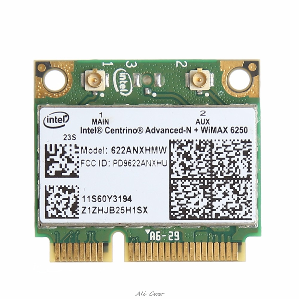 Dual Band 300M 2.4+5G Wireless Wifi PCI-E Card For Intel Advanced-N WiMAX 6250 For IBM For Lenovo FRU 60Y3195