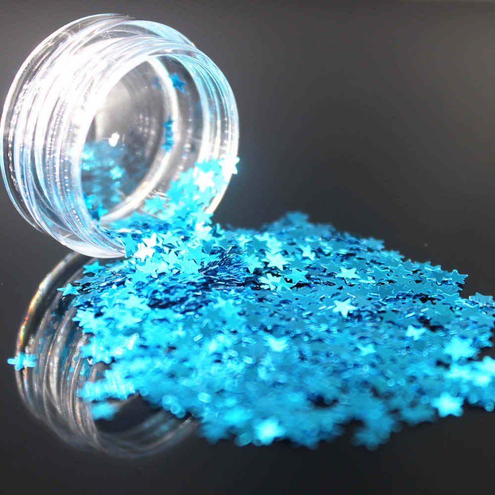 1 doos Donkerblauw Holografische Sequin Glitter Shimmer Diamond 12 Kleur Eye Shiny Skin Markeerstift Gezicht Glitter Festival Make Start