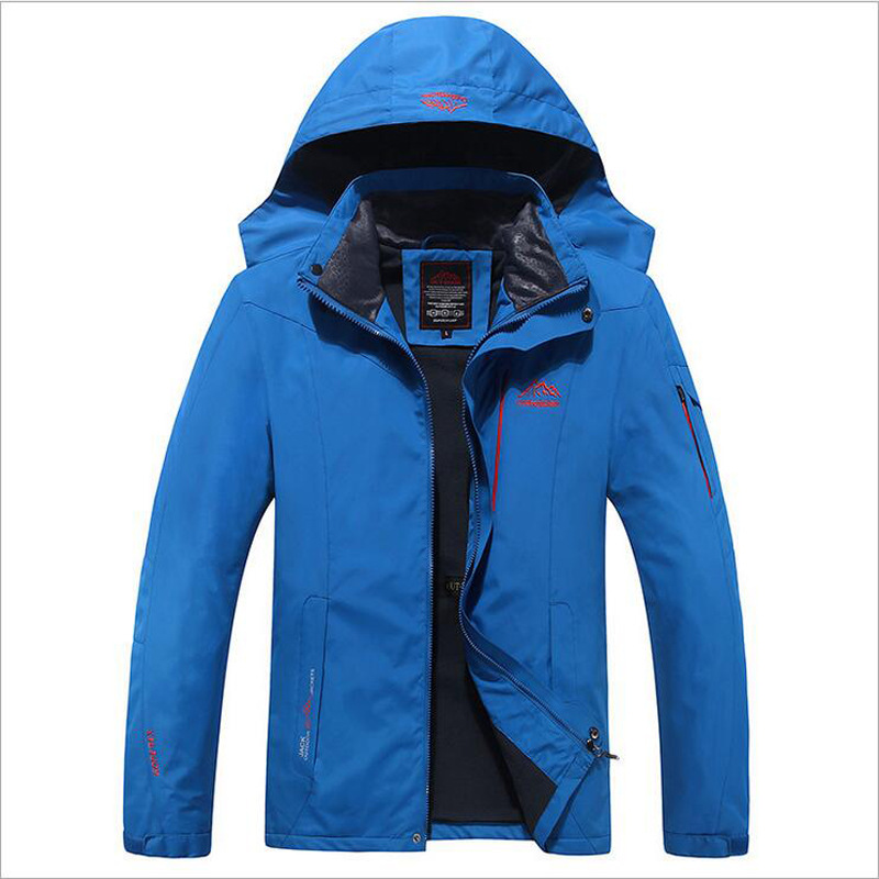 Men Outdoor Coat Hiking Jacket Men Autumn Outdoor Sports Coats Hooded Climbing Trekking Windbreaker Waterproof Jackets WholesaleMen Outdoor Coat Hiking Jacket Men Autumn Outdoor Sports Coats Hooded Climbing Trekking Windbreaker Waterproof Jackets Wholesale