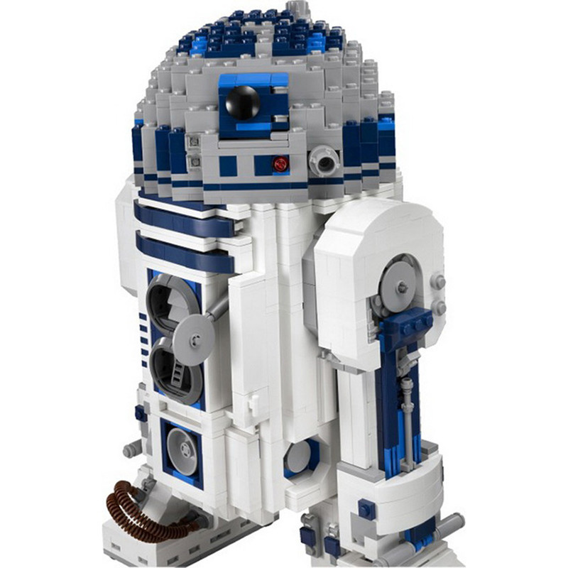 05043 Star 2127 Pcs Wars Genuine The R2- Robot Set Out of print D2 Building Blocks Bricks Toy for Boy Compatible with L-brand футболка классическая printio r2 d2 star wars dead star