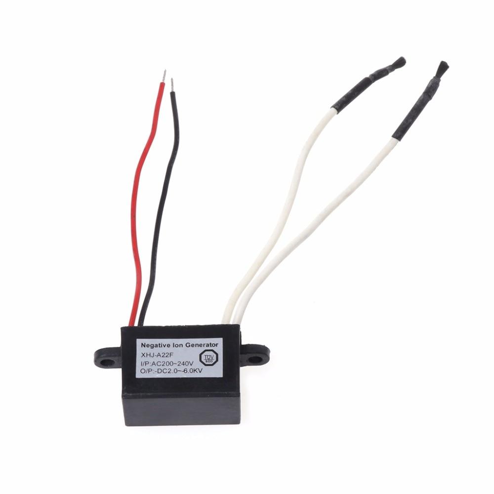 MEXI 1Pc Single-head Anion Air Purifier Ionizer Negative Ion Generator Module Vitamin Cleaner Car