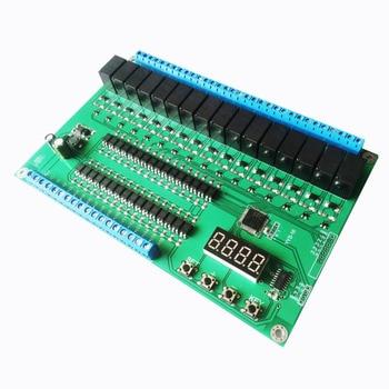 16-channel relay control module/board PLC delay/jog/self-lock/interlock/sequence start stop
