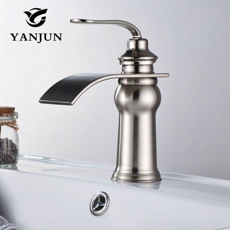 Yanjun Basin Faucet  Deck Mounted Single Lever Single Hole  Cold&Hot bathroom basin mixer tap  YJ-6671Yanjun Basin Faucet  Deck Mounted Single Lever Single Hole  Cold&Hot bathroom basin mixer tap  YJ-6671