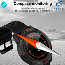 Compass Sports Smartwatch GPS Waterproof Wearable Device Heart Rate Monitor Blood Pressure Bluetooth Smart Watch For Android IOS
