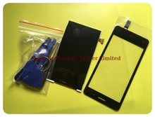Novaphopat For Fly iq4403 LCD Display Screen 4403 Touch Sensor Panel Replacement Parts ; With Tracking Number
