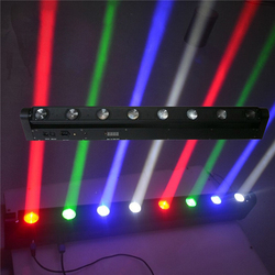 8x12 W RGBW LED Bar Beam Moving Head Licht 150 W Beam Moving hoofd Licht met DMX512 10/38 kanalen Bar DJ Club Spot Podium verlichting