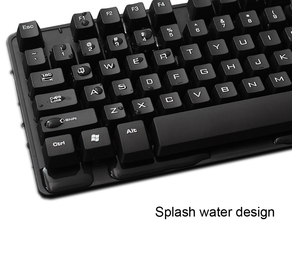 Slim Multimedia USB Wired External  Gaming Keyboard Computer Keyboard For Notebook Laptop / PC