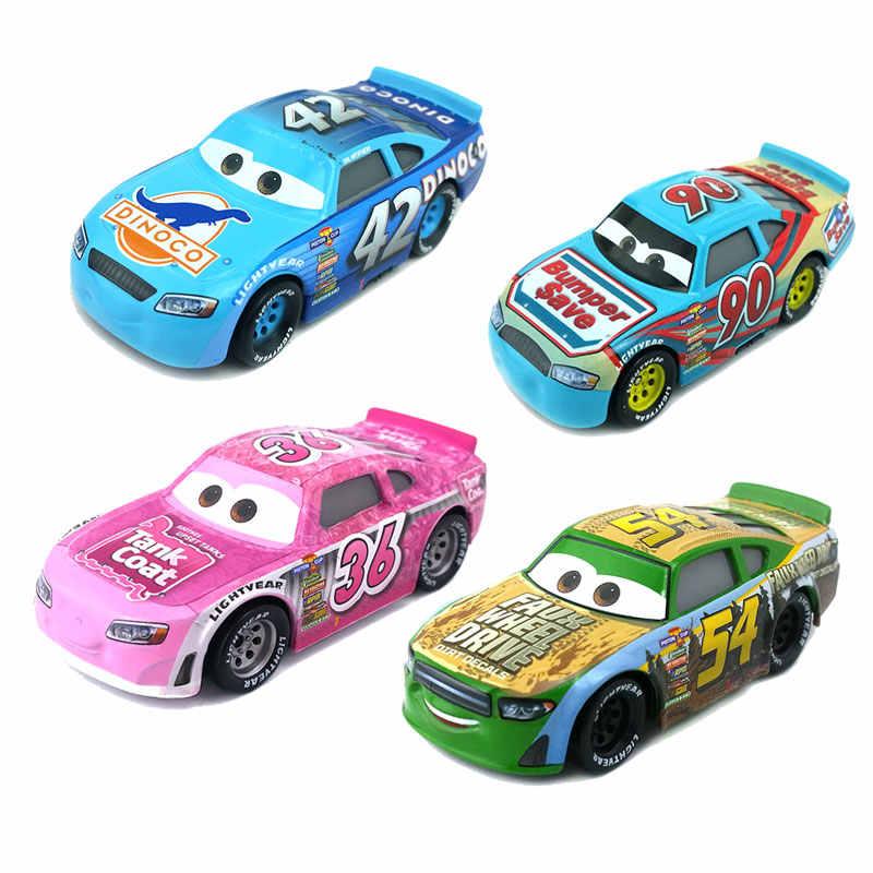 דיסני פיקסאר מכוניות 3 צעצועי לייטנינג מקווין ג 'קסון סטורם מאק הדוד משאית 1:55 מתכת סגסוגת Diecast דגם כלי רכב צעצוע בני מתנות