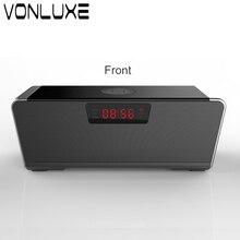 Portable 20 w Sans Fil Bluetooth Haut-Parleur Soundbar Super Bass Stéréo Haut-Parleur Long-veille avec Réveil Haut-parleurs pour Téléphones