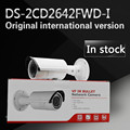 In stock Free shipping english version Bullet Camera DS-2CD2642FWD-I, 4MP WDR Vari-focal Network IP Camera