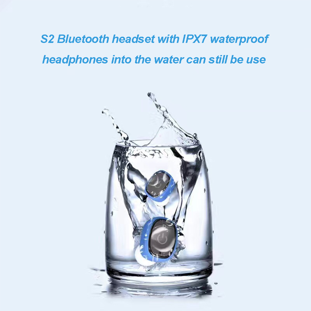 2017-New-Queenview-Waterproof-IP67-Bluetooth-headset-Binaural-Auricular-True-Wireless-Earbuds-Charging-box-For-Smartphone (1)