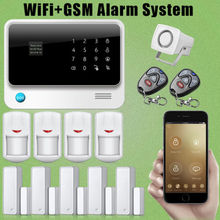 Chuangkesafe 2016 Wireless/Wired G90B WiFi GSM GPRS Burglar Alarm For Home Office Security
