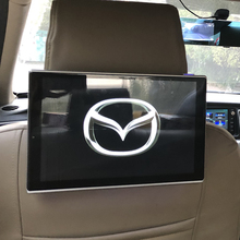 2PCS 11.8 Inch Car Screen Android 7.1 System Headrest Monitor For Mazda Video Player USB/SD/IR/FM TFT LCD Digital Touch